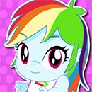 Equestria Girls Twilight Sparkle And  Rainbow Dash Babies