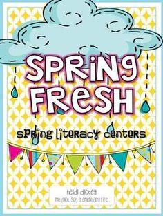 Spring Literacy Centers that includes rhyming worksheets as well as real vs. nonsense words that will cause the students to think further about words.