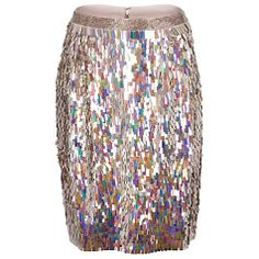 New Years Eve? Buy French Connection Irridescent Shimmer Pencil Skirt,  Multi Online at johnlewis.com