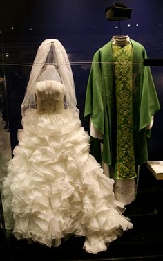 The Wedding Dress And Priests Robes Worn During An Elaborate Production Of Taylor Swifts Song