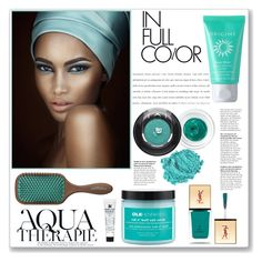 """AQUA THERAPIE"" by valentina-agnese ❤ liked on Polyvore"