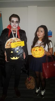 Winners of our best fancy dress and pumpkin carving competitions! Pavilion House