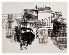 Cristina Guerreiro Urban City, Architectural Features, Built Environment, Deconstruction, Urban Landscape, Natural World, Art Inspo, Mixed Media, Gerhard Richter