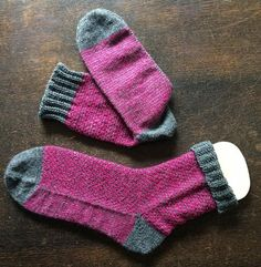 Coole Socken 39/40 im Broken Seed Stitch
