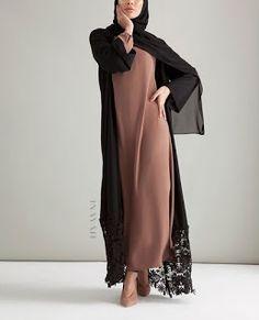 Plain Kimono Cardigan Fashion Inspirations for Hijabies – Girls Hijab Style & Hijab Fashion Ideas Islamic Fashion, Muslim Fashion, Modest Fashion, Fashion Outfits, Fashion Ideas, Muslim Dress, Hijab Dress, Abaya Fashion, Cardigan Fashion