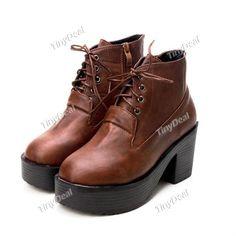 2014 Winter Women's Shoes Boots Martin boots DSH-329783 TinyDeal  #mythanksgivingwishlist