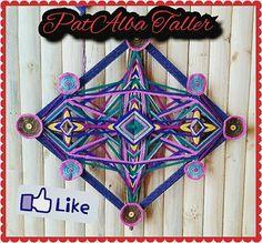 #PatAlbaTaller #mandalas #tejidos #energiaspositivas #ojodedios #emprendedora #diseñodeautor  ✌