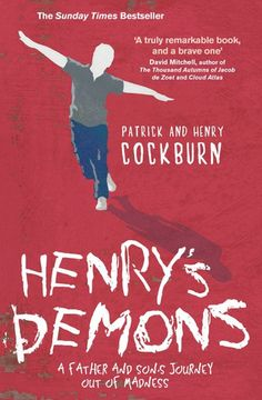 Hospitalised after a suicide attempt Henry was diagnosed with paranoid schizophrenia.  In this book Henry's father Patrick talks opening and honestly about the struggles being a parent to a child with mental health issues whilst Henry himself paints candid pictures of his experiences of voices and visions.