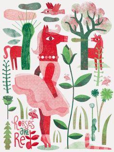 Lien Geeroms в этом самом лесу и можно не в качестве розовой лошадки)