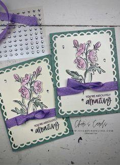 Friend Scrapbook, Color Contour, Pen Design, Wink Of Stella, Stampin Up Catalog, Stamping Up Cards, Creative Cards, Flower Cards, Cartonnage