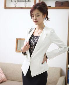 2012 New Arrived Plus Size Women Fashion Autumn Temperament Clothing Ladies Tailored Suit