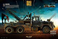 Creative Direction, Design & Development of the Mad Max: Fury Road Vehicle Showcase.