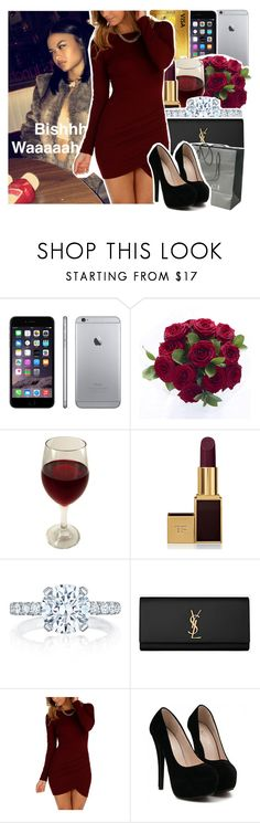 """""""Lovehate"""" by queen-tiller ❤ liked on Polyvore featuring Tom Ford, Tacori, Yves Saint Laurent and Gucci"""