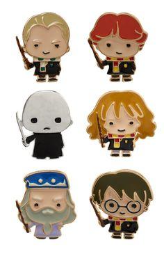 Primark - Harry Potter 6Pk Emoji Badges