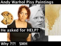 Andy Warhol Piss Paintings