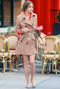 Olivia Palermo wearing Montblanc Star Classique Automatic watch Pretty Ballerinas Montreal snake flats  New York City June 5 2013