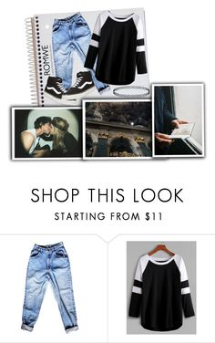 """""""Don't Ever Leave She said To Me"""" by xconstancax ❤ liked on Polyvore featuring INDIE HAIR and Vans"""