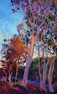 Ehttp://erin-hanson.artistwebsites.com/products/eucalyptus-in-color-erin-hanson-art-print.htmlucalyptus In Color Print By Erin Hanson
