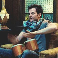 Community Post: 21 Of The Most Adorable Chris Pine GIFs...not proud but dang he's cute