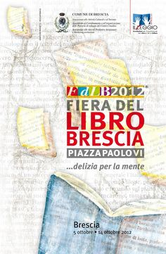 13-14 ottobre 2012. Fiera del libro di Brescia. Noi ci siamo.