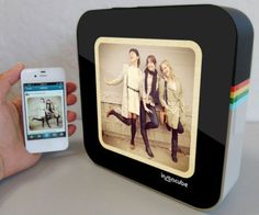 Instagram Feed Photo Frame  Never miss a beat when you stay connected to your favorite social media network with the Instagram feed photo frame. Its the 21st century photo frame that automatically syncs to your account and displays your personalized Instagram feed for your viewing pleasure.  $149.99  Check It Out  Awesome Sht You Can Buy