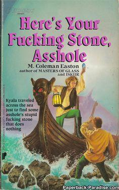 The Greatest Sci-fi/Fantasy books never written. https://twitter.com/paprbckparadise - Album on Imgur