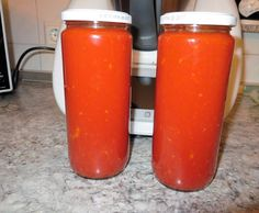 Rezept Adschika, scharfe Tomatensoße von Inna38 - Rezept der Kategorie Saucen/Dips/Brotaufstriche