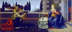 Leonardo Da Vinci. Annunciazione