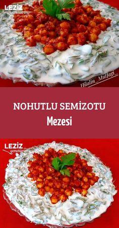 Nohutlu Semizotu Mezesi