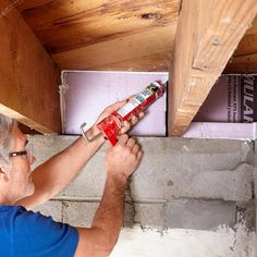 Seal the Rim Joists - 14 Basement Finishing Tips: http://www.familyhandyman.com/basement/basement-finishing-tips