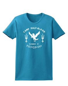 Do you belong in Poseidon's Cabin, cabin 3, at camp half blood? Then this is the print for you, you demigod, you! These fun printed garments are a great personal touch on you, or as a gift to a friend