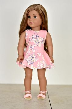 Listing includes one top only. Top closes with Velcro in the back  Fabric placement pattern may very  The outfit is professionally sewn with interior edges serged/finished. Doll top and shoes are not included. This outfit is not suitable for children under the age of 3. My home is smoke-free.