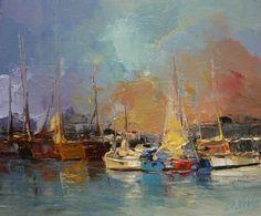 "Saatchi Art Artist Andres Vivo; Painting, ""Look the sky  Nº 3863"" #art"