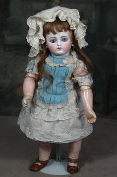 """Block Letter FG French Bisque Bebe, 17"""" from signaturedolls on Ruby Lane"""