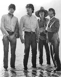 S. J. Paul McCartney♥♥John W. O. Lennon♥♥George H. Harrison♥♥Richard L. Starkey