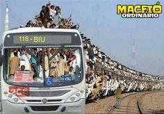 Em Maceió, para chegar no Benedito Bentes é assim!!!