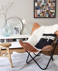 Livingroom #butterflychair #interiorsinspo | by design co