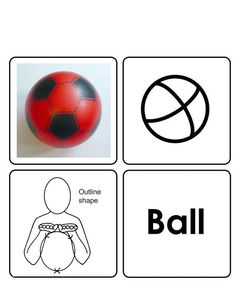Ball Makaton Signs, Mr Tumble, British Sign Language, Bsl, Word Out, Learning Disabilities, Spoken Word, Toy Boxes