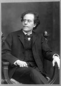 Austria. Composer and Conductor Gustav Mahler, 1909 (1860-1911)
