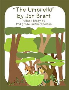"""""""The Umbrella"""" by Jan Brett: A Book Study by 2nd grade Snickerdoodles $"""