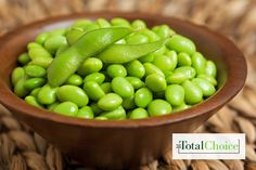 Total Choice Edamame: Try this Asian-inspired snack the next time hunger strikes. Eat this recipe on the Total Choice 1200-calorie plan.