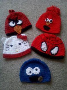 Character Hats by AsJah Crochet