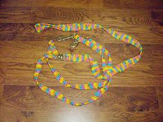 crocheted double dog leash