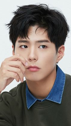 (notitle) Sure, the bushy perms of the might be out of vogue, but there are plentifulness of mod Permed Hairstyles, Modern Hairstyles, Korean Celebrities, Korean Actors, Park Bo Gum Wallpaper, Park Go Bum, Mens Hair Colour, Types Of Curls, Hair Reference