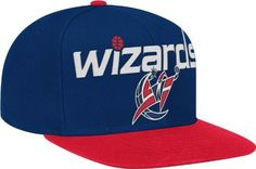 NBA Washington Wizards Wool Blend Adjustable Snapback Hat, One Size,  Navy/Red by adidas. $13.80. Save 45% Off!