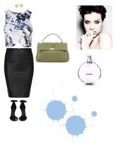 """Pattern"" by sedefolga on Polyvore featuring moda, Topshop, Marni, Isabel Marant, Kate Spade, Chanel, women's clothing, women's fashion, women ve female"