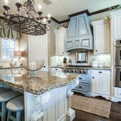 Blue Louise Granite Design Ideas, Pictures, Remodel, and Decor - page 14