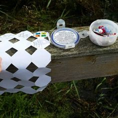 I like the way this log sheet has been cut and folded to fit neatly in the round geocache container.  #IBGCp