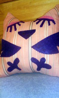 Сшитые подушки Совушки для детей - Поделки с детьми | Деткиподелки