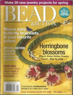 Bead & Button Magazine - April 2008 - Issue 84